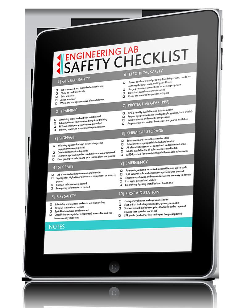Engineering-Lab-Safety-Checklist