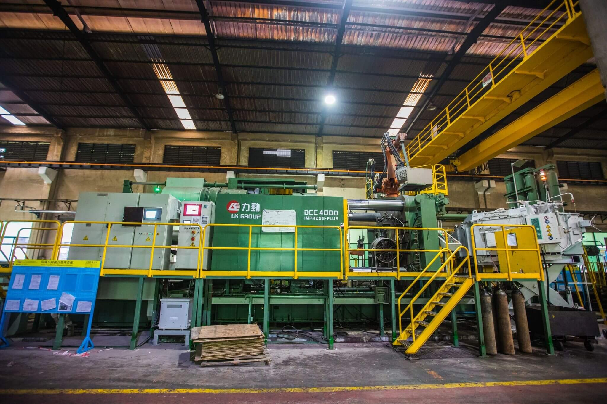 Die Casting Machine - East West Manufacturing