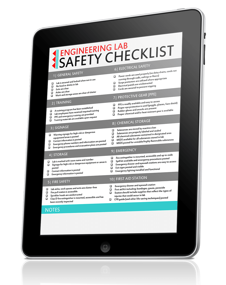 EW-Engineering-Lab-Safety-Checklist