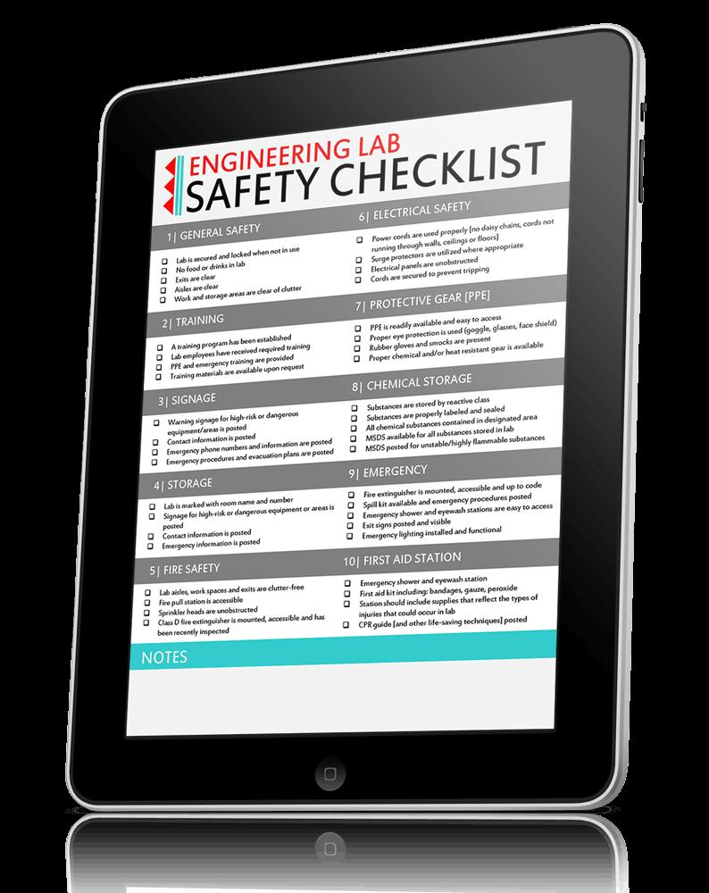 EW-Engineering-Lab-Safety-Checklist